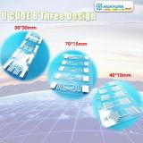 Antes de la serialización de 96 bits EPC UCODE 8 chip RFID con incrustaciones en seco o húmedo inlay