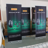 El aluminio retráctil Banner Roll up Stand Banner