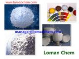 Alto precipitado medio del sulfato de bario de la talla de partícula Baso4 0.6um de la fábrica de China