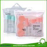 Состав бутылки перемещения 12 PCS пластичный кладет косметические мешки в мешки