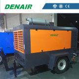 Tipo lubricado nueva condición compresor de aire portable diesel industrial del tornillo