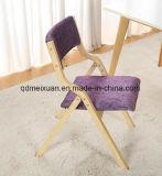 단단한 나무 접는 의자 Portable 홈 여가 접는 의자 옥외 뒤 사무실 의자 (M-X3539)