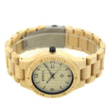 Spitzenkinetik-Quarz-Mann-Art-Förderung-Geschenk-Ahornholz-hölzerne Uhren