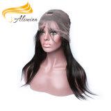 비꼬인 머리 레이스 가발 인도 Virgin 머리 레이스 가발