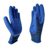 Handschoenen van het Werk van het latex de Schuim Met een laag bedekte