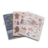 Мягкого покрытия канцелярских принадлежностей ноутбук/ школы дневник с цветных перьев