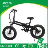 Bicicleta gorda de la bici del neumático E del crucero de la playa