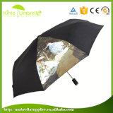"""섬유유리 방풍 21 """" X 8K 3 겹 우산 광고"""