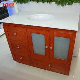 Un design moderne Surface solide Salle de bains vanité lavabo