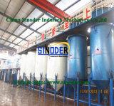 Raffinerie de pétrole de vente chaud de machine de développement de fabrication d'huile de cuisine de grain de paume 2017