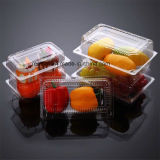 Wegwerf Plastiknahrungsmittelbehälter mit Kappe wegnehmen