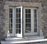 Porte française en aluminium d'interruption thermique de Woodwin 2.0mm