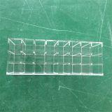 Sostenedor plano grande del soporte del lápiz labial de 50 ranuras del plexiglás claro