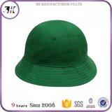 Chapéus Bonnie da cubeta do algodão liso do painel da venda por atacado 6
