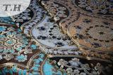 2016의 다채로운 큰 자카드 직물 시리즈 셔닐 실 소파 직물