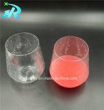 12oz blanco de plástico PET Lolita forma de copa de vino