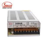Bloc d'alimentation SMP de mode commuté par 250W de S-250-48 48VDC 5.2A