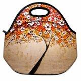 方法工場携帯用女性の子供のピクニッククーラーのお弁当箱のトートバックのための印刷によって絶縁される熱食糧新しい昼食袋