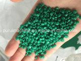 Película plástica del solo tornillo que recicla la línea de granulación