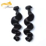 Fábrica de tecelagem do cabelo indiano macio e forte de Remy do Virgin