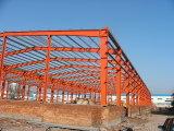 Naves de acero y paneles de pared y techo y depósito de acero