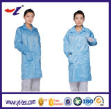 По-разному одежды ESD цветов для ткани чистки ESD Cleanroom/