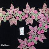 guarnizione dentellare del merletto dell'acero del foglio di 11.5cm per la camicetta dal commercio all'ingrosso cinese Hme868 del fornitore