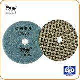Удобный монтаж Diamond Super площадкой для полировки Grante мрамора полировка