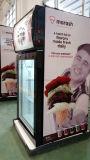 [50ل] مصغّرة [كونترتوب] عرض مجعدة مع 3 طبقة باب زجاجيّة مصغّرة مجعدة لأنّ شوكولاطة عرض مجعدة