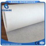 Polyester Spunbond nichtgewebtes Gewebe-flaches Polyester-Vliesstoff-Gewebe