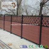 Slap-up zusammengesetzter Garten-Gitter-Zaun des Holz-WPC