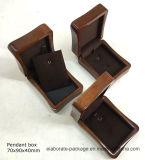 Cadre de bijou en bois d'impression de module en bois fait sur commande libre à la mode de cadeau pour l'étalage de bijou