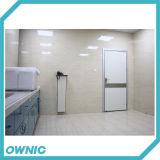 Nettoyer la porte d'oscillation manuelle de porte d'oscillation de porte pour l'hôpital