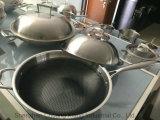 と非セットされる18/10のステンレス鋼の調理器具棒のコーティング(WAC-2030)