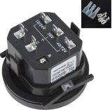 12V/24V/36V/48V/72V Indicator van de Last van de LEIDENE de Digitale Status van de Batterij met de Zwarte van de Maat van de Meter van het Uur