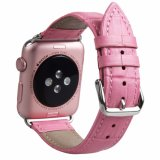 Bracelet Bracelet en cuir Premium remplacements des bandes de sangle pour Apple Watch
