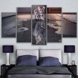 صورة زيتيّة جدار [أرت كنفس] إطار لأنّ يعيش غرفة [نورديك] زخرفة 5 لوح حيوانيّة قطع جديد [كدروس] نمط صورة ملصقة تضمينيّة