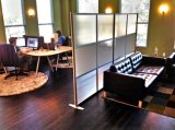 Kundenspezifische ausgeglichenes Glas-moderne hohe Trennwand (SZ-WS150)