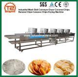 Industrielle Ineinander greifen-Bandförderer-Trockner-Kokosnuss bricht Bananen-Chip-Manioka-Chip-trocknende Maschine ab
