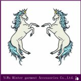 Unicorn Bordados Applique Ferro no design de patch Patch de ferro Sew bricolage Badge Bordados grosso / Lote