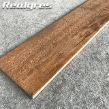 Nettoyer le plancher de carreaux polonais de bois en porcelaine