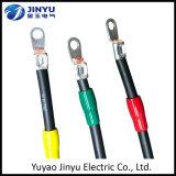 Alambre eléctrico aislado modificado para requisitos particulares fábrica y cable materiales del conductor del tipo y del cobre
