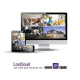 HD 720p 4 채널 감시 CCTV 감시 카메라 시스템 DVR 장비