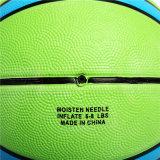 Preiswertes Cer-anerkannte Gummibasketball-Hersteller