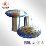 Filtro de agua de acero inoxidable sanitario