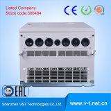 Fabricantes constantes 132 de la tapa 10 VFD de /China del inversor de la frecuencia del uso de la aplicación de la carga de /Heavy de la torque de V6-H 3pH a 220kw - HD