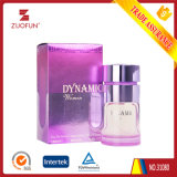 Frasco de perfume vidro detergente de almíscar Perfume Amor vermelho