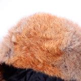 Русские двойные волосы Camo Cony крышки кроны. Крышки зимы шлема зимы