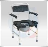 알루미늄 조정가능한 Commode 샤워 의자