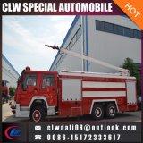 Alto camion di lotta antincendio della gomma piuma dell'acqua del camion dei vigili del fuoco del getto 6*4 da vendere